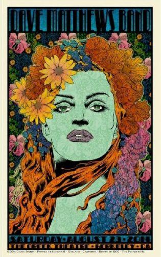 DMB Tour Poster - 08/23/2014
